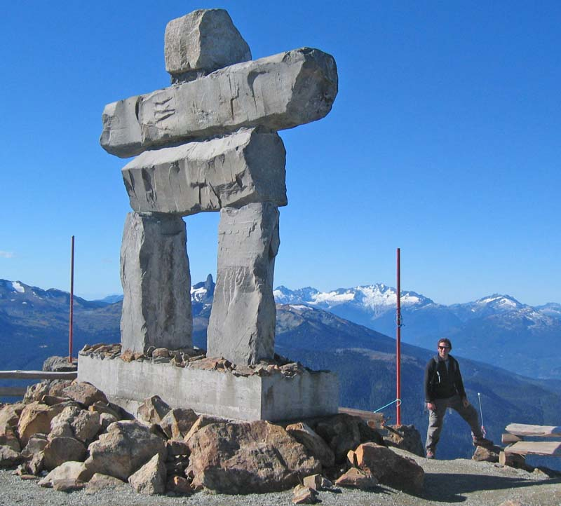 Whistler alpine hike high note trail to musical bumps amazing views of black tusk and black tusk meadows dominate the landscape sciox Choice Image