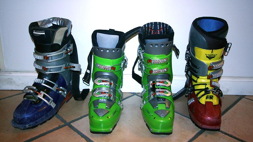 Garmont & Dynafit boots