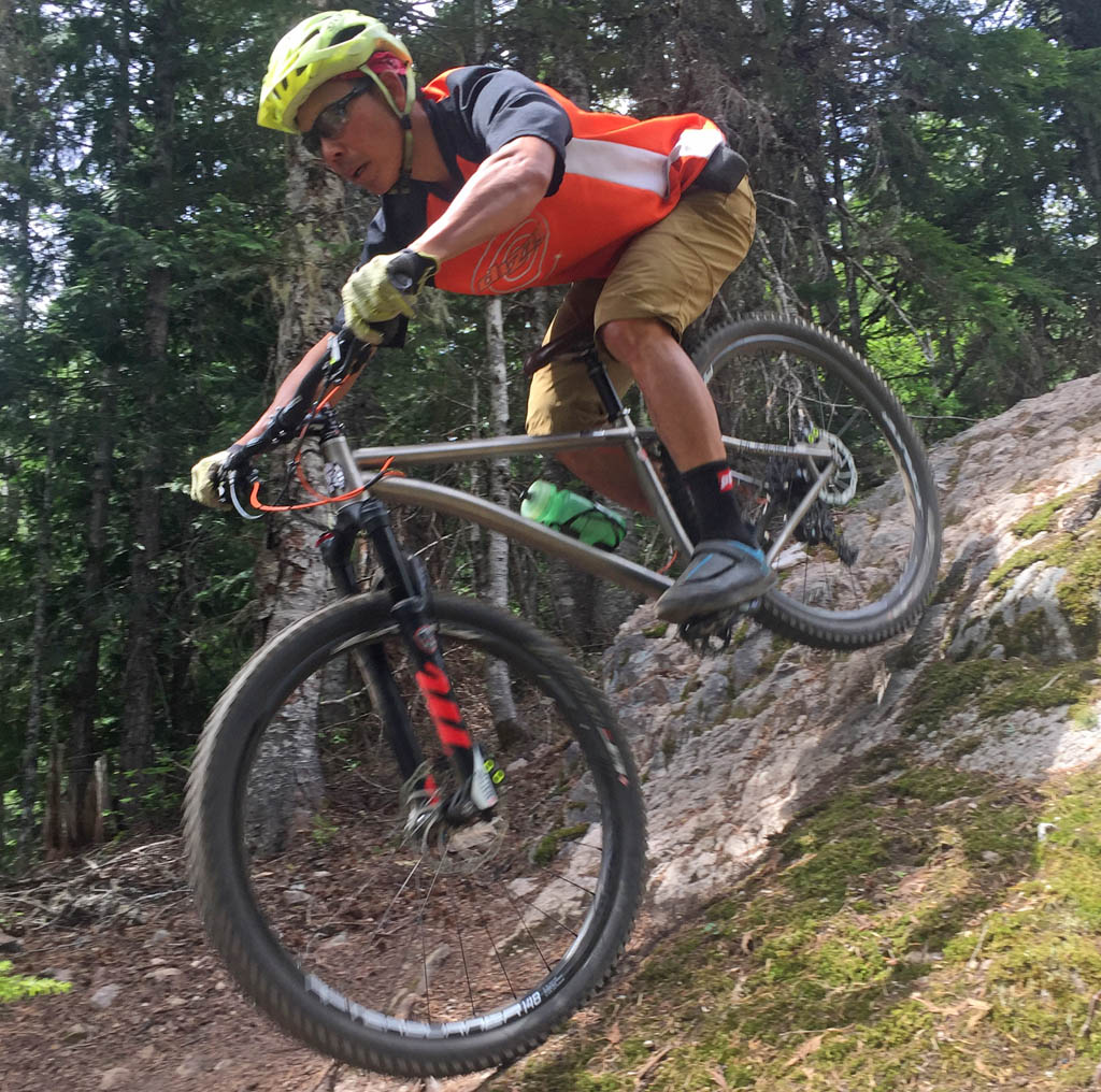 Review: Cove Ti Hummer 29er Hardtail | Sharon and Lee - Just another day