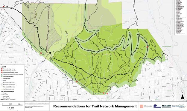 Recommended Trail Network