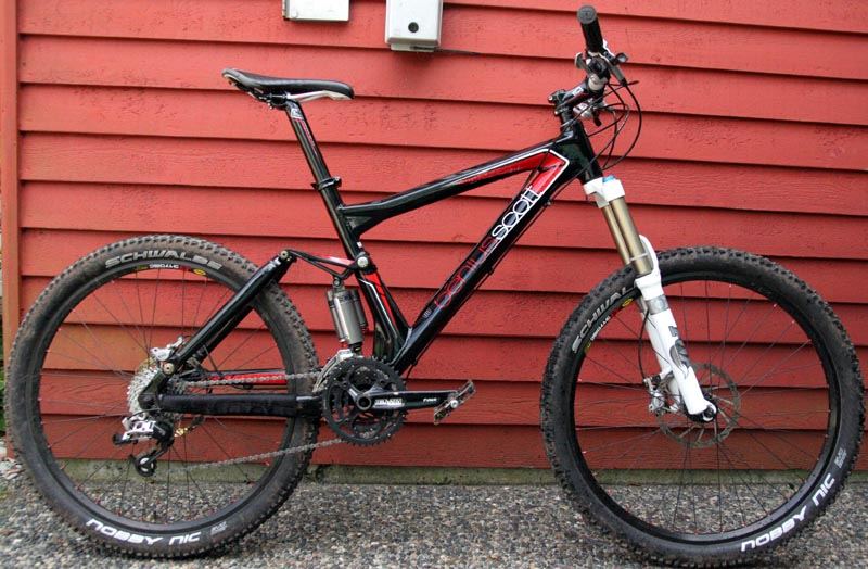 Scott Mc Carbon Fibre Mountain Bike Famous Mountain Bike 2017